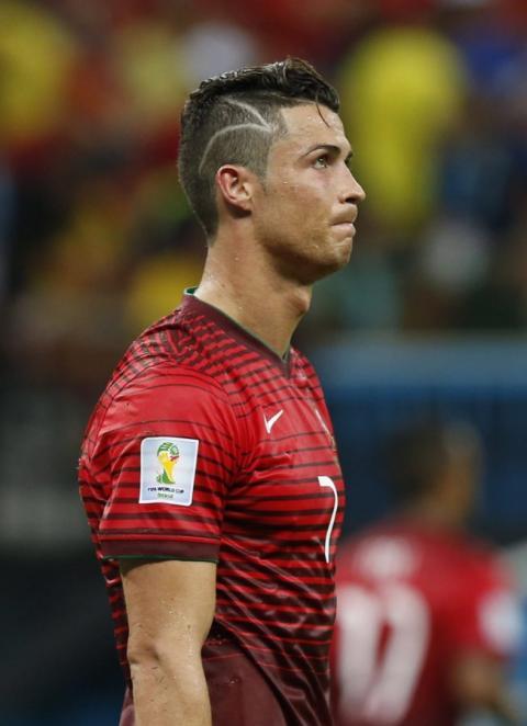 Ronaldo frisur wm 2014