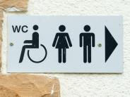 Kurze Frage: Darf eigentlich jeder das Behinderten-WC benutzen?