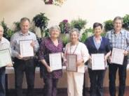 Versammlung: Blumenfreunde ausgezeichnet