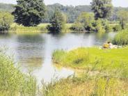 Jettingen-Scheppach: Der Heiligmannsee ist auch für Nichtschwimmer geeignet