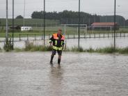 Landkreis Günzburg: Warten auf das Hochwasser