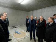 Günzburg: Meterdicke Wände fürmillionenschweres High-Tech-Gerät