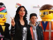 Günzburg: Filmpremiere mit Verona Pooth im Legoland