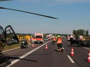 Polizei: Motorradfahrerin schwerst verletzt