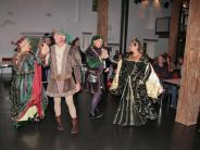 Mittelalterfest: Der Himmel öffnete seine Schleusen