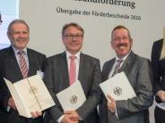 Landkreis Günzburg: Dürrlauingens Bürgermeister bringt Geld aus Berlin mit
