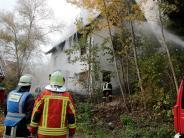 Landkreis Günzburg: Brand in Glöttweng: Der Tote hatte keine Munition