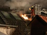 Kreis Günzburg: Feuer in Röfingen: Polizei vermutet Brandstiftung