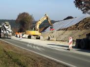 Edenhausen: Der rutschende Hang ist jetzt gesichert