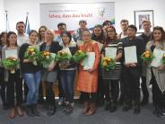 Feier: 20 neue Landkreisbürger