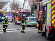Landkreis Günzburg: In Riedheim brennt wieder ein Wohnhaus