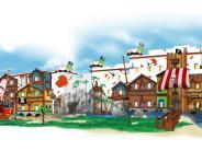Günzburg: Das neue Lego-Hotel wird eine Pirateninsel