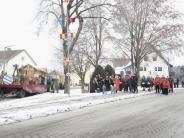 Tradition: Segen für Bäume und Faschingswagen