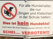 Gemeinderat I: Haldenwang bekommt Hundetoiletten