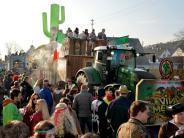 Bildergalerie: Faschingsumzug in Haldenwang begeistert Zuschauer