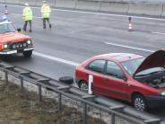 Kreis Günzburg: Unfallserie mit Toten, Staus und fehlender Rettungsgasse auf der A8