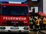Jettingen-Scheppach: Küche ausgebrannt: Defekt am Herd führt zu Feuer in Wohnung