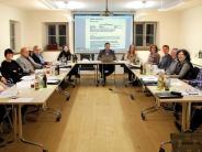 : Im neuen Sitzungssaal den Etat verabschiedet
