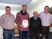 Auszeichnung: Jahrzehntelange  Treue zum Verein