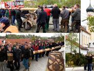 Dürrlauingen: Drei Maibäume auf einen Streich gestohlen