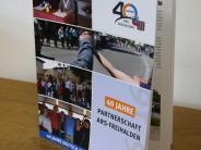 Städtepartnerschaft: Ein Friedensbuch zum Jubiläum