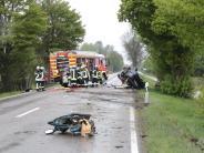 Thannhausen/Günzburg: Zwei schwere Unfälle am Wochenende