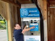 """Vermarktung: Frische Milch von der """"Tankstelle"""""""