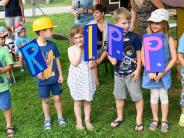 Jettingen-Scheppach: Kleine Bauarbeiter bereiten den Weg für die Krippe