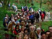 Ziemetshausen: Lichterprozession an Pfingstsonntag in Maria Vesperbild