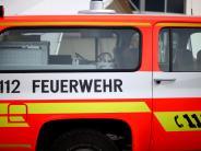 Kreis Günzburg: Mehrere Hecken geraten bei Arbeiten in Brand
