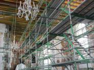 Jettingen-Scheppach: Teile der Kirchendecke drohten herabzustürzen