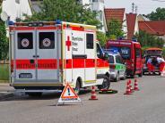Kreis Günzburg: Tödlicher Unfall: Paar stürzt Treppe hinunter, Mann stirbt