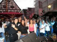 Bildergalerie: Live am Marktplatz in Krumbach mit zwei Bands