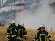 Gemeinderat: Applaus für Bekämpfer des Großbrands