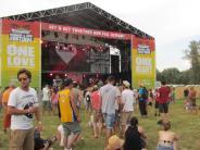 Sunrise-Festival: Heiße Rhythmen trotz Unwetters
