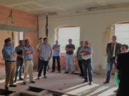 Sanierung: Kalk, Terrazzo und Esche sind hier die Grundelemente