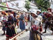 Burgau: Historisches Bürgerfest in Burgau im Lutherjahr