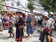 """Burgau: Landsknechte, Lagerleben und """"Liebeszauber"""" beim Historischen Fest"""