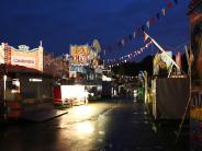 Günzburg: Volksfest ohne Volk am Freitagabend