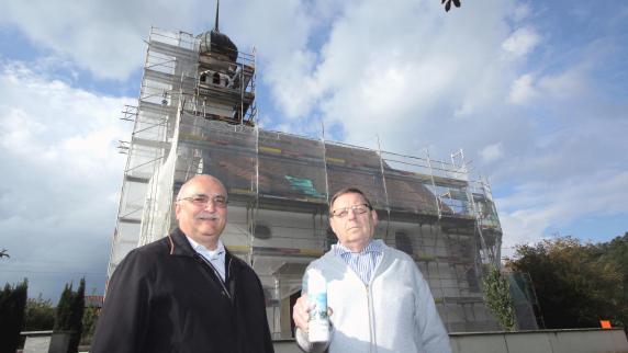 Glöttweng: Die Kirche St. Oswald wird aufwendig saniert