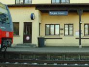 Burgau/Mindelaltheim: Bahnstrecke musste Freitagabend kurz gesperrt werden