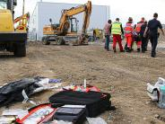 Kreis Günzburg: Kollege wird von Baustellenfahrzeug erfasst