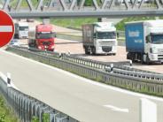 Kreis Günzburg: Der Schwerverkehr lastet schwer auf der A8
