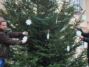 Ichenhausen: Dieser Christbaum trägt einen besonderen Schmuck