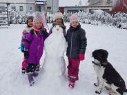 Günzburg: Die schönsten Schneemänner und Eiskunstwerke