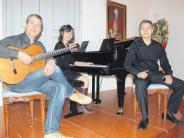 Barocksaal: Spanische Klänge glutvoll musiziert
