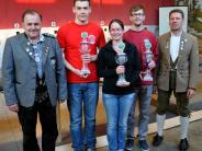 Gauschießen: Harald Räuber mit 100 Ringen bester Luftpistolen-Schütze