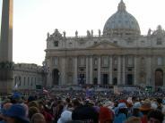 Illertissen/Rom: Einmal zum Papst und zurück
