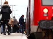 : Erst ist er zu kurz, jetzt hat der Zug Verspätung