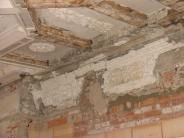 Offenes Denkmal: Stuckdecke im Schloss als Schauobjekt
